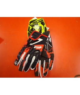 Gants quad First racing Orange noir