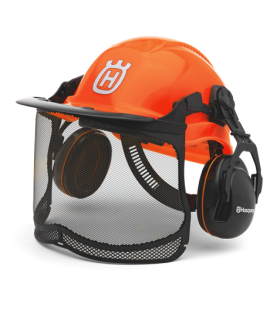 Protection Casque Functional orange fluorescent Husqvarna