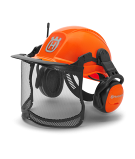 Protection Casque Functional Radio FM Husqvarna